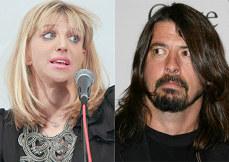 courtney love-dave grohl