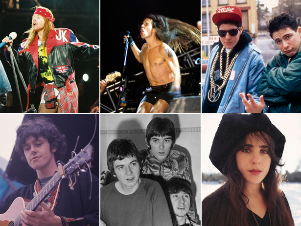2012 Rock & Roll Hall of Fame Inductees