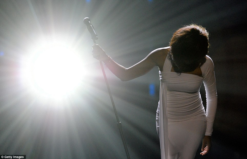 Whitney Houston Final Bow
