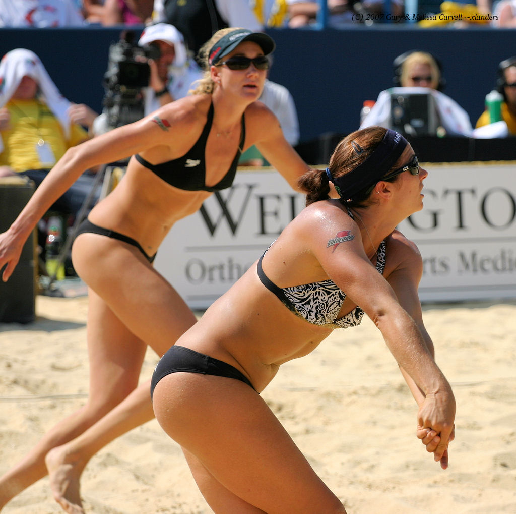 misty may &amp; Kerri walsh 