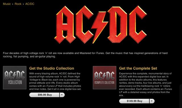 AC/DC Pulls The Trigger