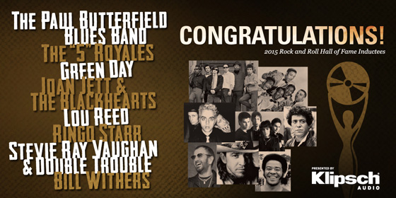 2015 Rock & Roll Inductees