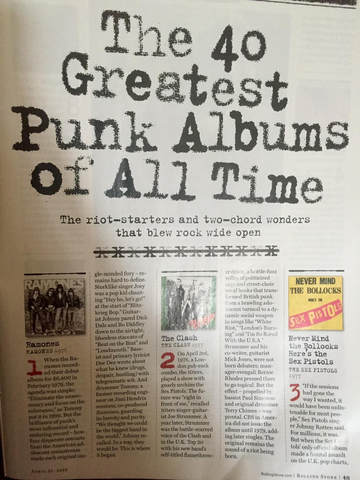 Paying Homage To Punk Rock