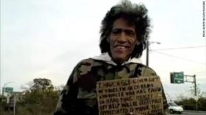 Homeless Man-Radio Voice