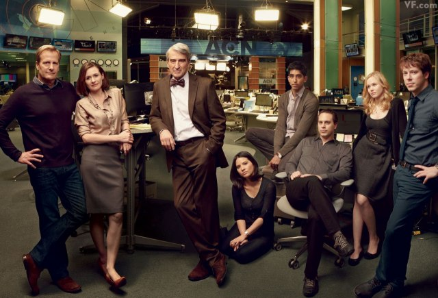 """The Newsroom"" Keeps It Real"