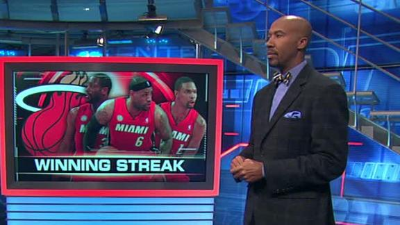 The Miami Heat & Other Amazing Sports Streaks