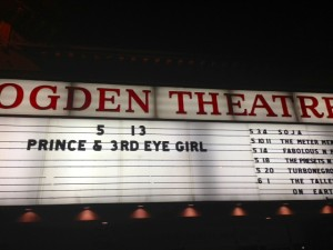 Prince marquee