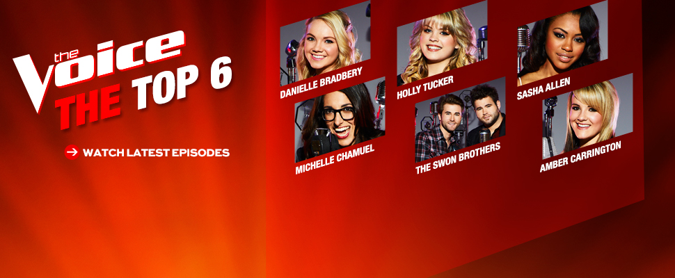 The Voice Top 6
