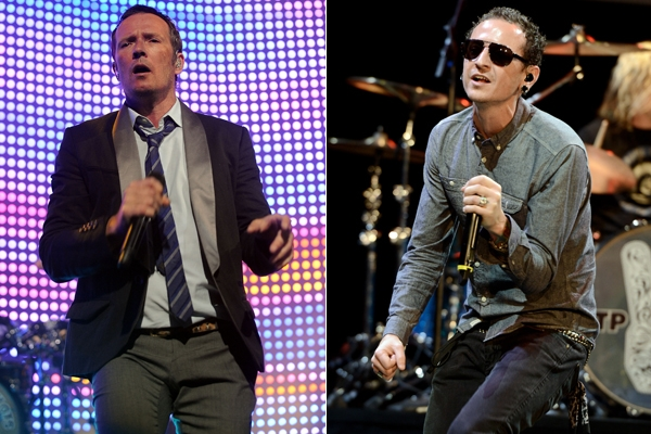 Frontmen - Weiland and Chester