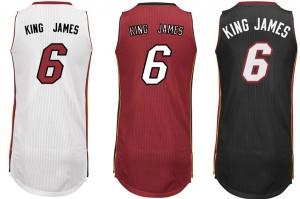 King James jersey
