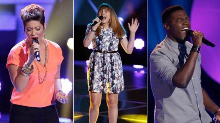 The Voice's Top 10