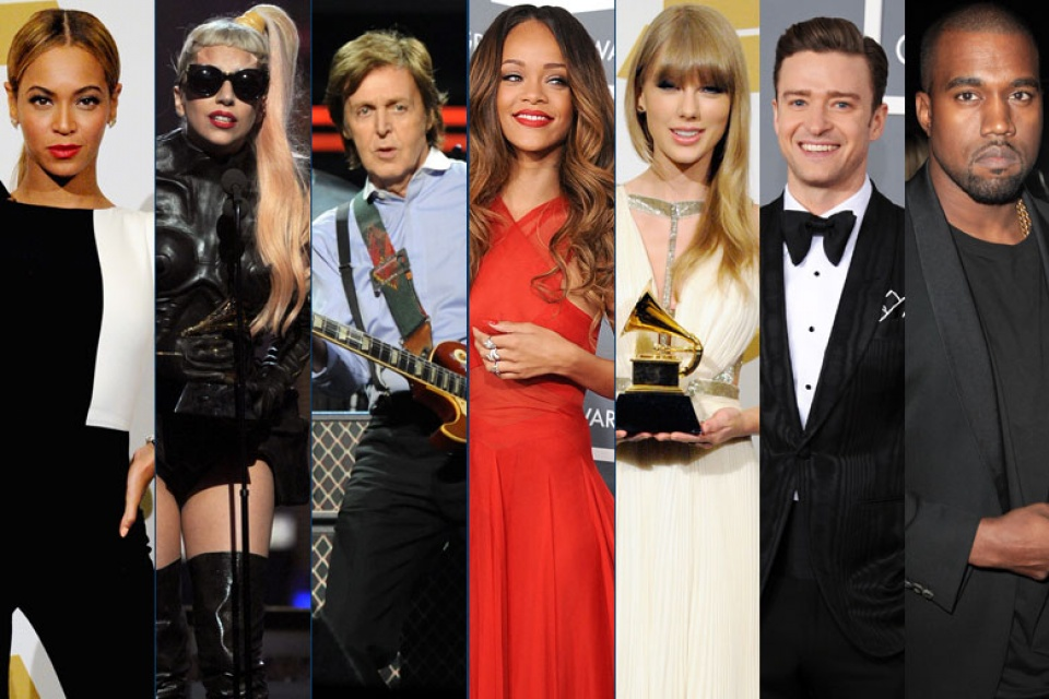 2014 Grammy Noms Photo