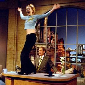 David Letterman - Drew Barrymore