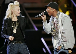 Gwen Stefani & Pharrell photo