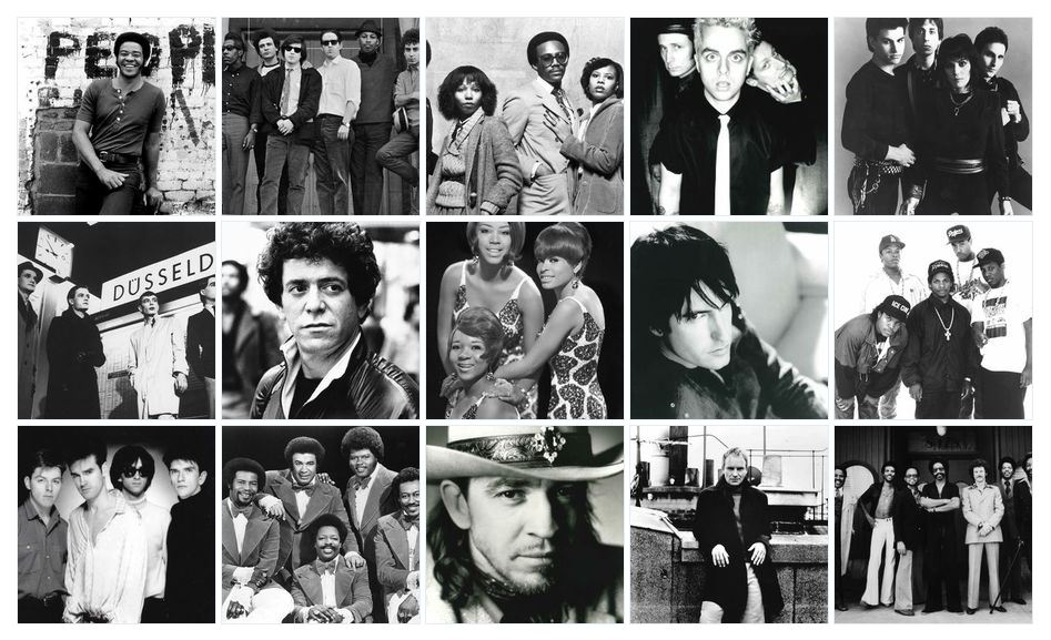 2015 Rock & Roll Hall of Fame Nominees