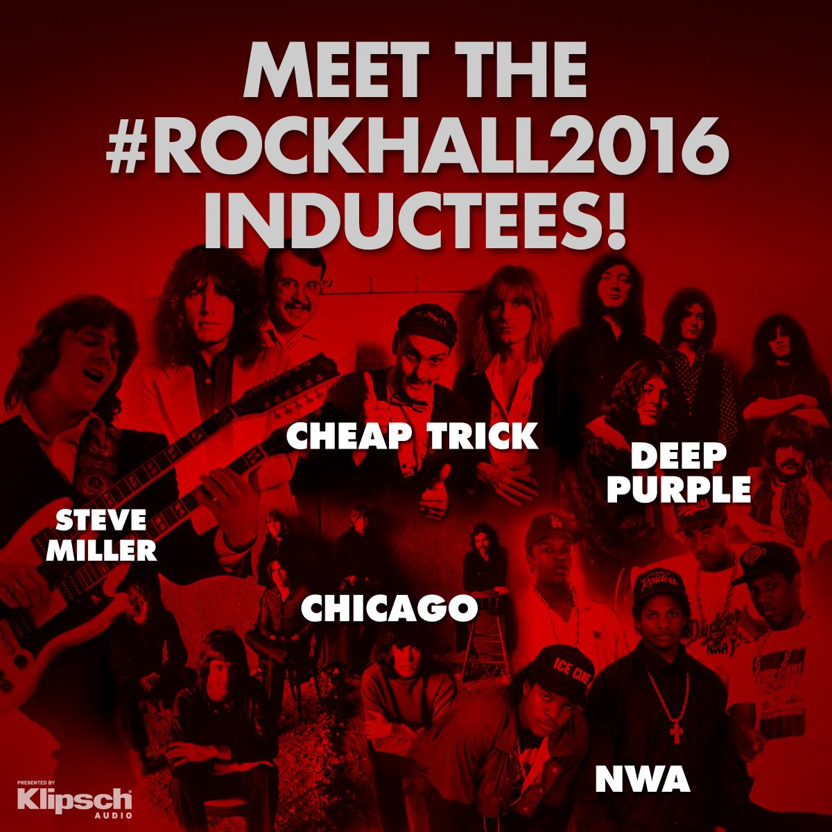2016 Rock & Roll Hall of Fame Inductees