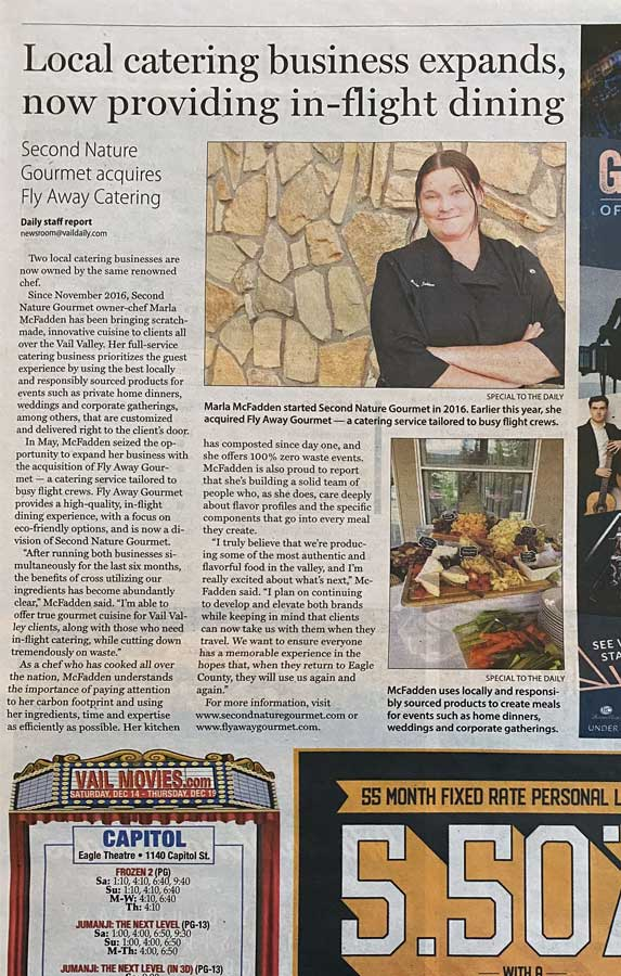Local Catering Business Expands